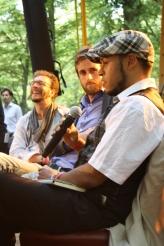 Geert Stam (mundo Den Haag), Sjoerd Louwaars (C4i) and Yair Callender